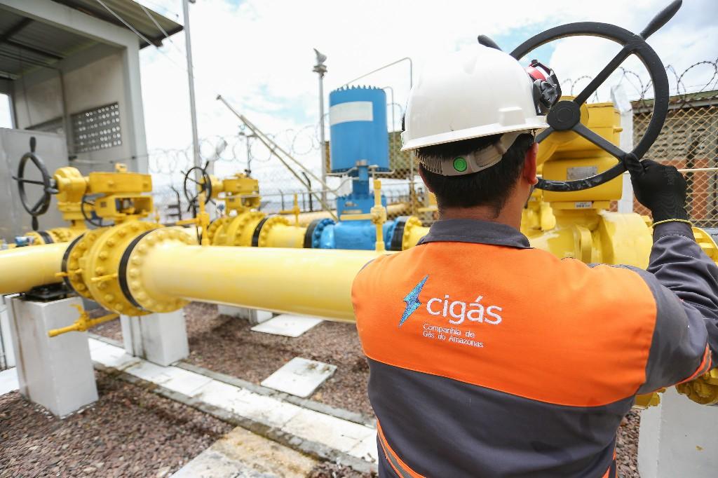 Cigás divulga que AM liderou em abril uso do gás para gerar energia no país