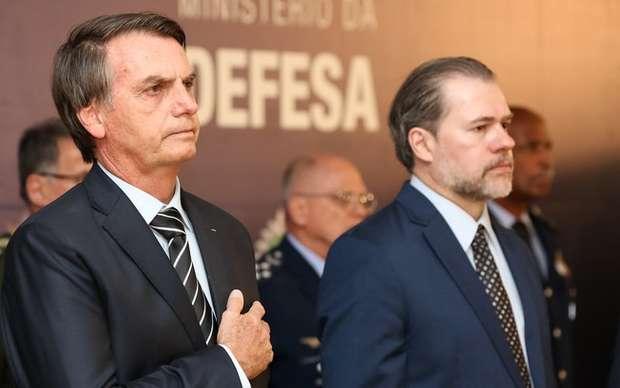 Bolsonaro e Toffoli buscam retirar do MPF poder sobre delações
