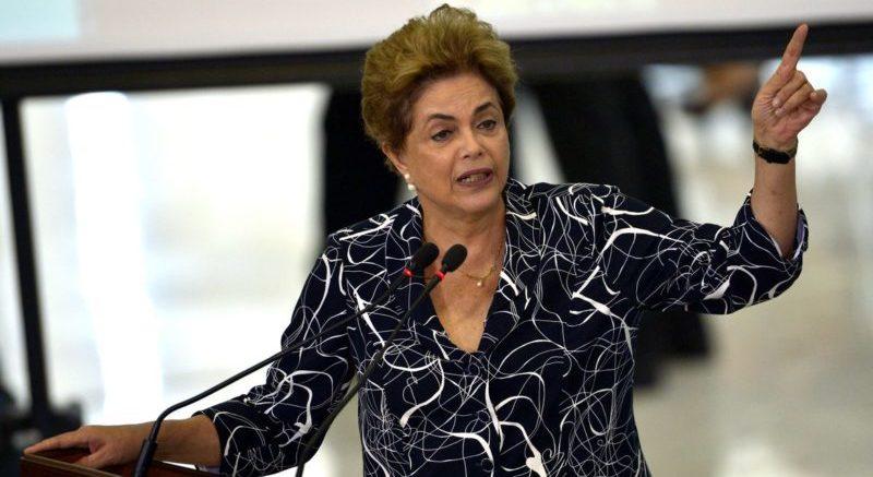 Dilma recebe apoio de FHC, Lula e Maia após ser atacada por Bolsonaro