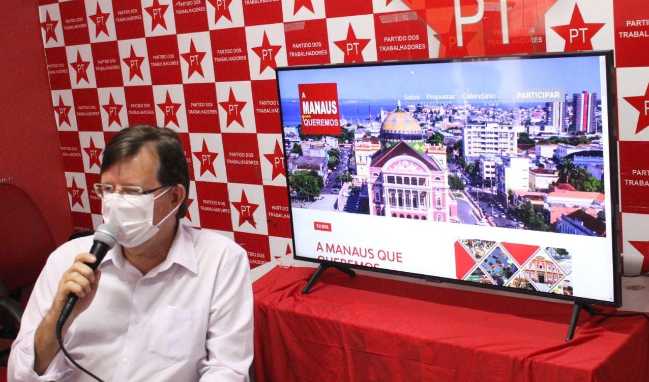 José Ricardo anuncia convenção do PT e espera Lula e Sinésio no palanque