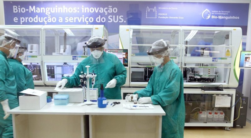 Fiocruz e AstraZeneca assinam acordo para produção de vacina