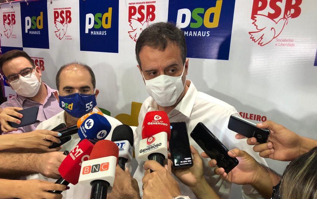 """""""O PT nunca foi opção. David, quis ficar fora"""", afirma Marcelo Serafim"""