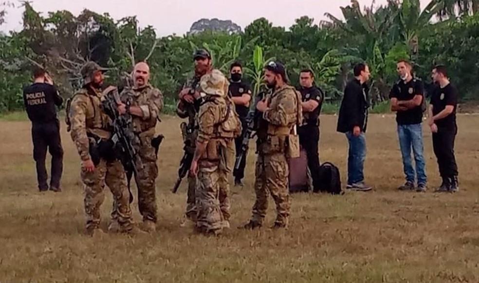 Ordem federal manda parar operação policial da SSP-AM no rio Abacaxis