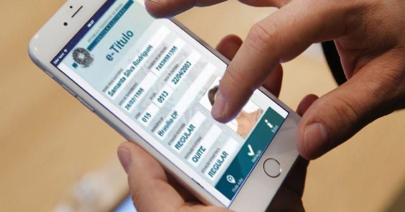 Título eleitoral digital passa de meio milhão de downloads no TSE