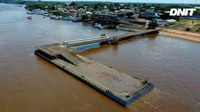 Governo Federal retoma operações em porto de Itacoatiara