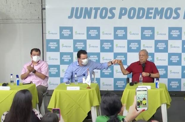 Wilker Barreto é o vice de Amazonino Mendes