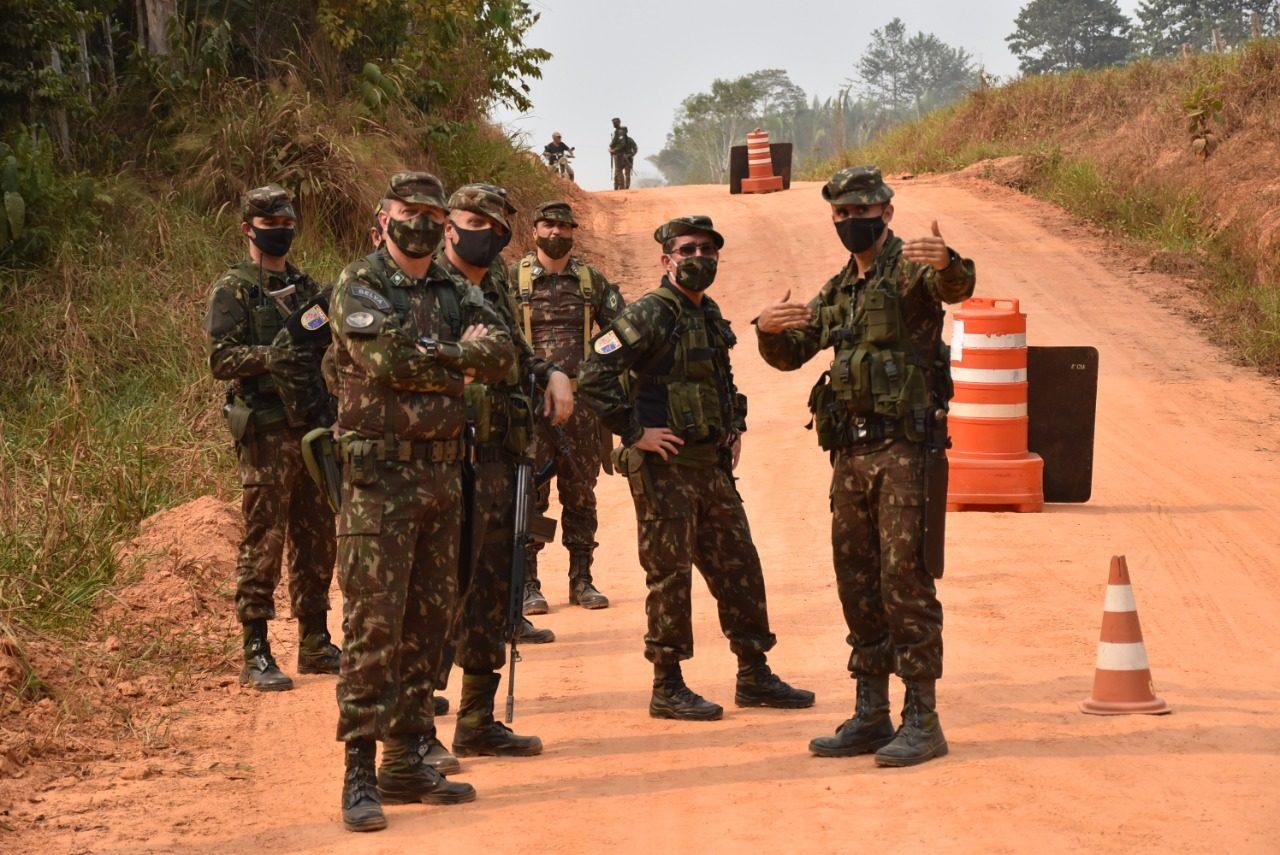 Governo põe 3 mil soldados em Manaus para mostrar força na Amazônia