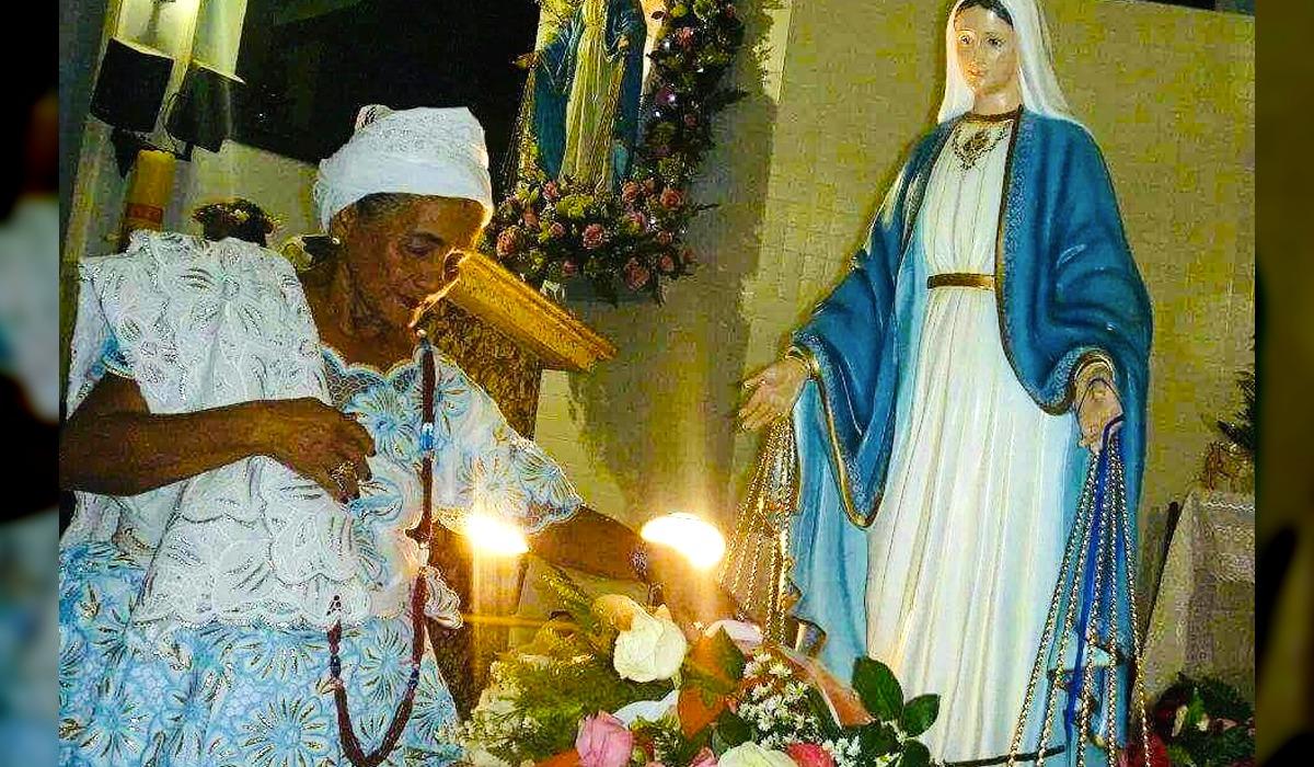 Morre de infarto Mãe Emília, presidente da federação de umbanda