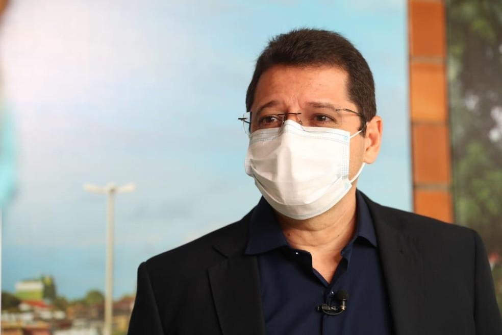 Secretário de Saúde, Marcellus Campelo, é contaminado pela covid-19