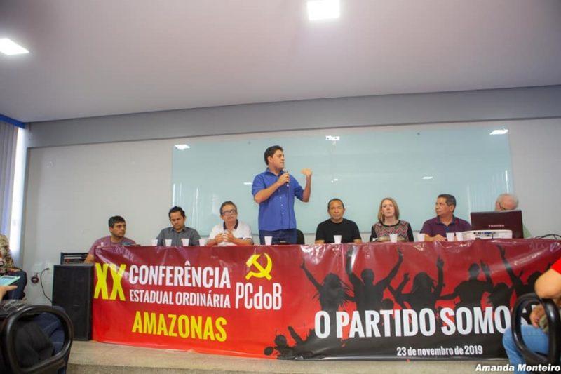 Amil é oficializado candidato do PCdoB na corrida pela Prefeitura de Manaus