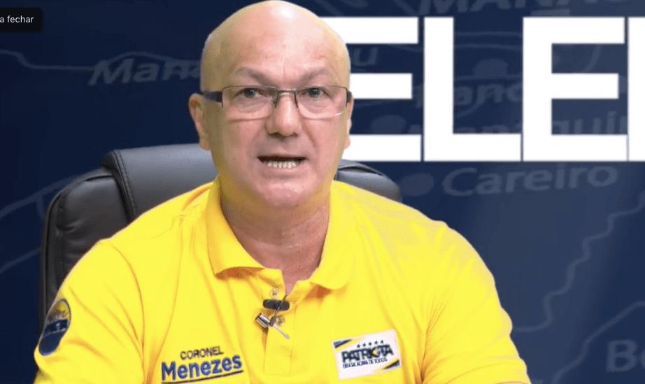 Menezes conta com o apoio de Bolsonaro e aposta nos 80% sem candidato