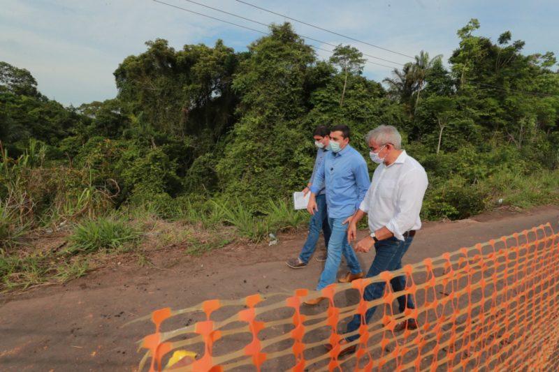 Governo investe R$ 8 milhões para recuperar AM-452, que leva ao Iranduba