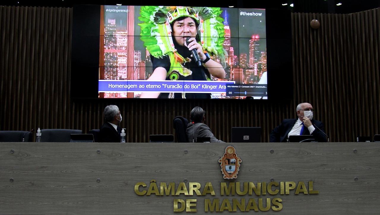 Câmara Municipal de Manaus aprova Moção de Pesar a Klinger Araújo
