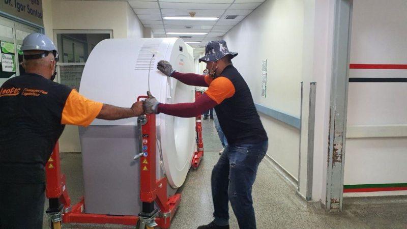 Hospitais João Lúcio e Francisca Mendes recebem novos tomógrafos