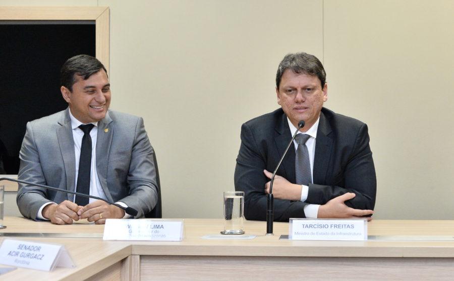 Encontro entre Wilson Lima e Tarcísio de Freitas será na Democracia