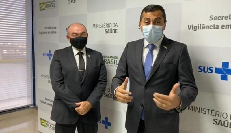 Amazonas recebe 300 mil testes RT-PCR do coronavírus, anuncia Wilson