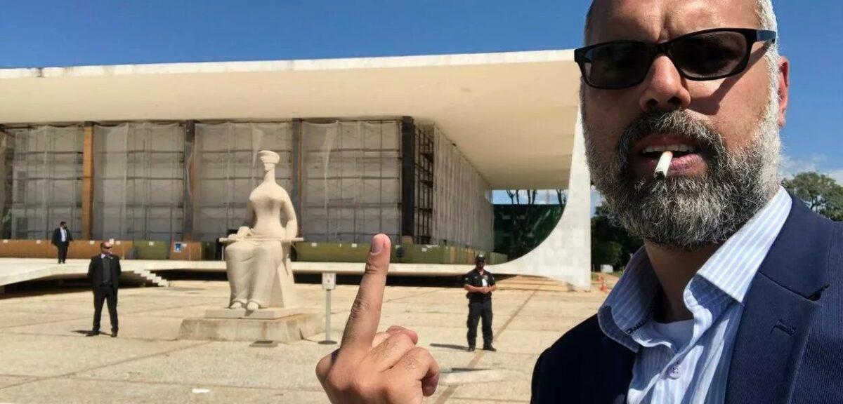 MPF recorre de decisão que rejeitou denúncia contra Allan dos Santos