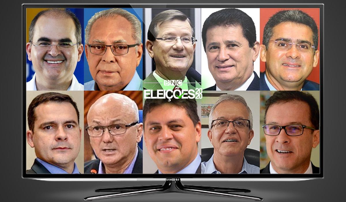 Nicolau terá o maior tempo de TV seguido por Amazonino, José Ricardo e Alfredo
