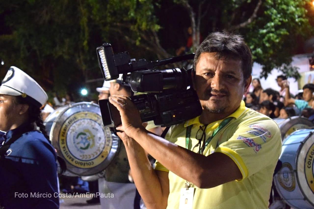Cinegrafista de Parintins morre de Covid-19 em Manaus