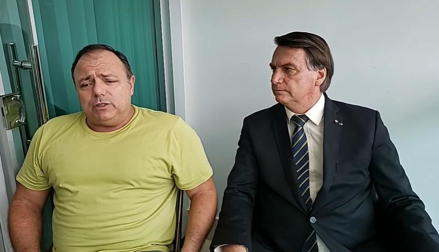 Bolsonaro acorda Pazuello para fazer live e mostrar quem manda