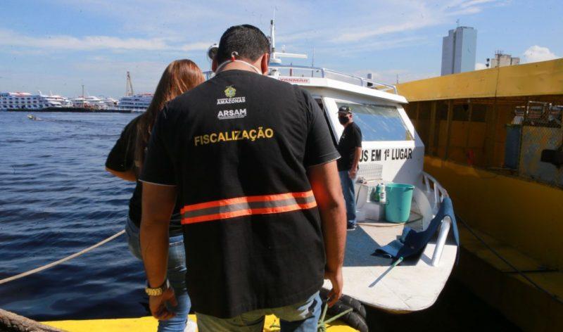 Fiscalização aponta 200 irregularidades no transporte pelos rios do AM