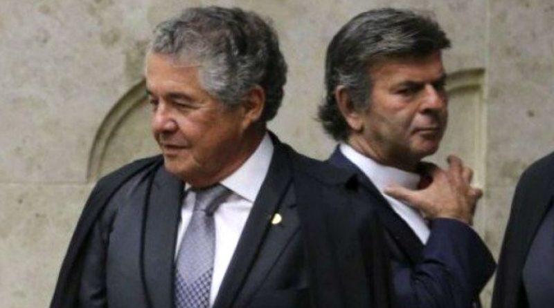 Marco Aurélio e Luiz Fux protagonizam bate-boca no Supremo