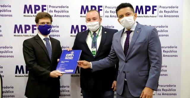 MPF recebe relatório final da CPI da Saúde no Amazonas