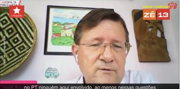 Zé Ricardo ataca adversários e diz que não pode pagar pela corrupção do PT