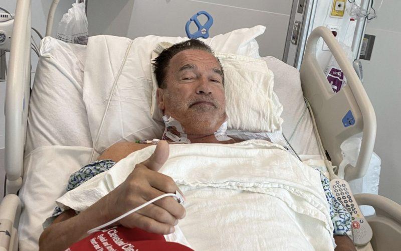 Aos 73 anos, Schwarzenegger faz terceira cirurgia no coração