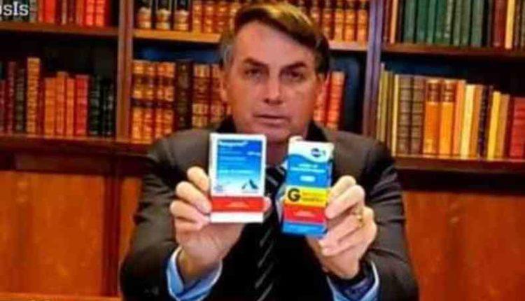 STF manda para Aras notícia-crime de Bolsonaro pela cloroquina