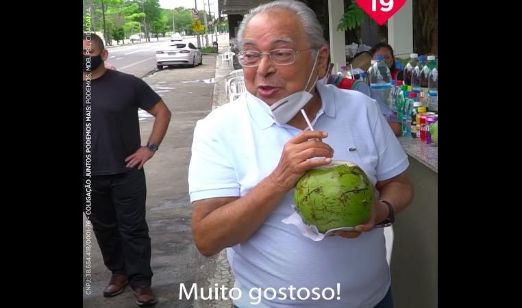 Com receio da abstenção, Amazonino apela na campanha para eleitor votar
