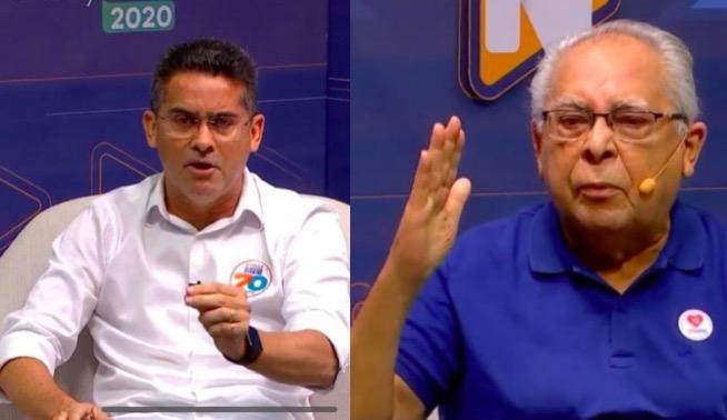 David vence Amazonino neste domingo com 4% à frente, diz Ibope