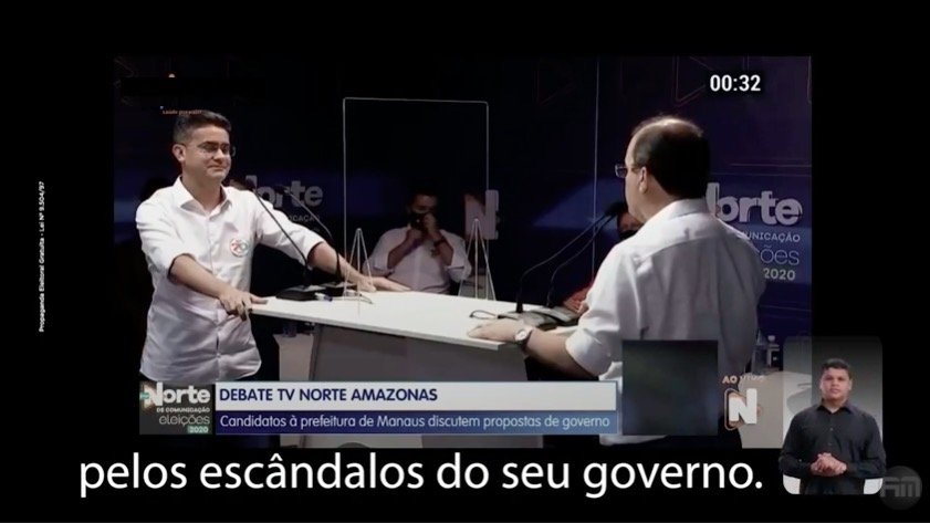 Amazonino e coronel são condenados por espalhar fake news na propaganda