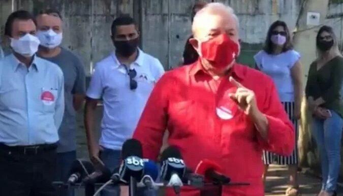 Ex-presidente Lula classifica a eleição municipal como histórica