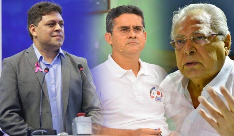 Amil critica ausência de Amazonino e David em debate na TV A Crítica