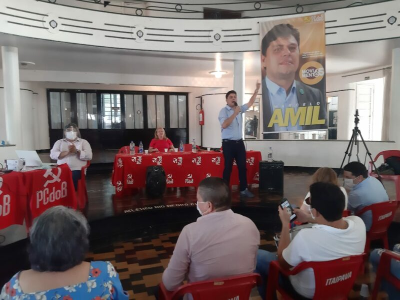Marcelo Amil tem menor custo de voto do PCdoB no país