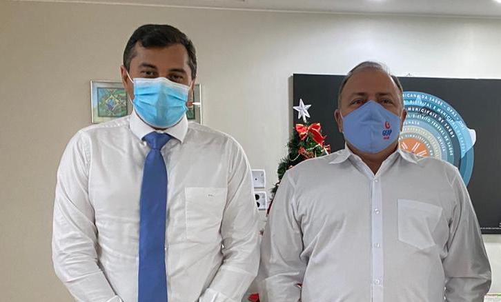Ministro promete a Wilson apoio a sequelados do coronavírus no AM