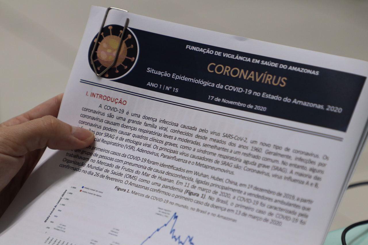 FVS aponta coronavírus estável no AM, mas com alto número de casos