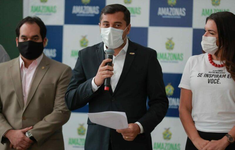 Wilson torna permanente Auxílio Emergencial a famílias pobres do AM