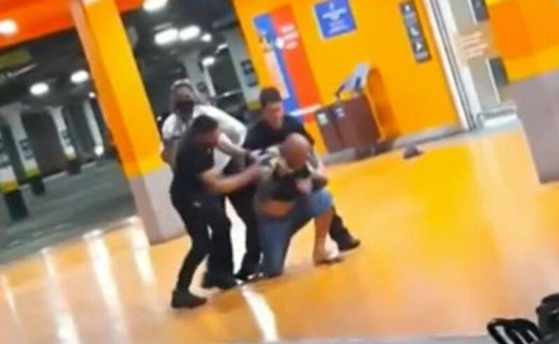PM e seguranças de supermercado espancam homem negro até a morte no RS