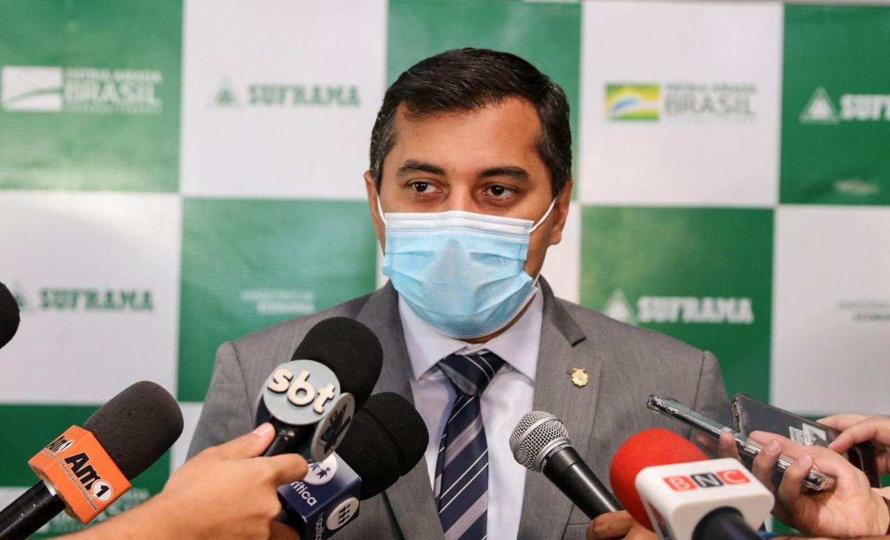 Governador do AM apresenta status do oxigênio na rede hospitalar