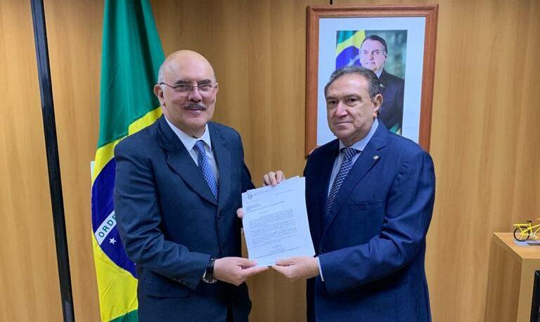 Ministro da Educação promete analisar perdas do Fundeb nos municípios do AM