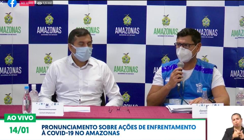 Governo do Amazonas decreta lockdown de 19h às 6h