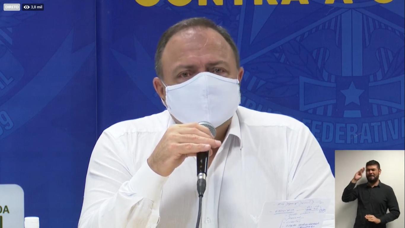 """""""Manaus é a prioridade nacional neste momento"""", diz ministro da Saúde"""