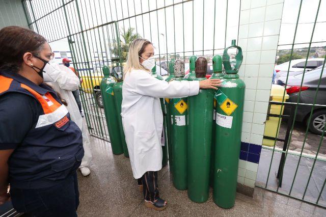 Consumo de oxigênio em Manaus tem redução no começo de março