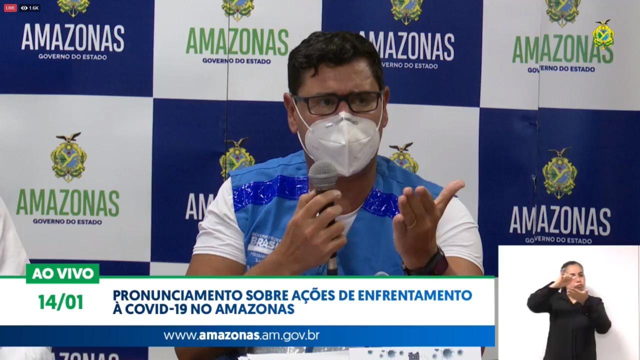Operação Oxigênio é anunciada para abastecer rede hospitalar do AM