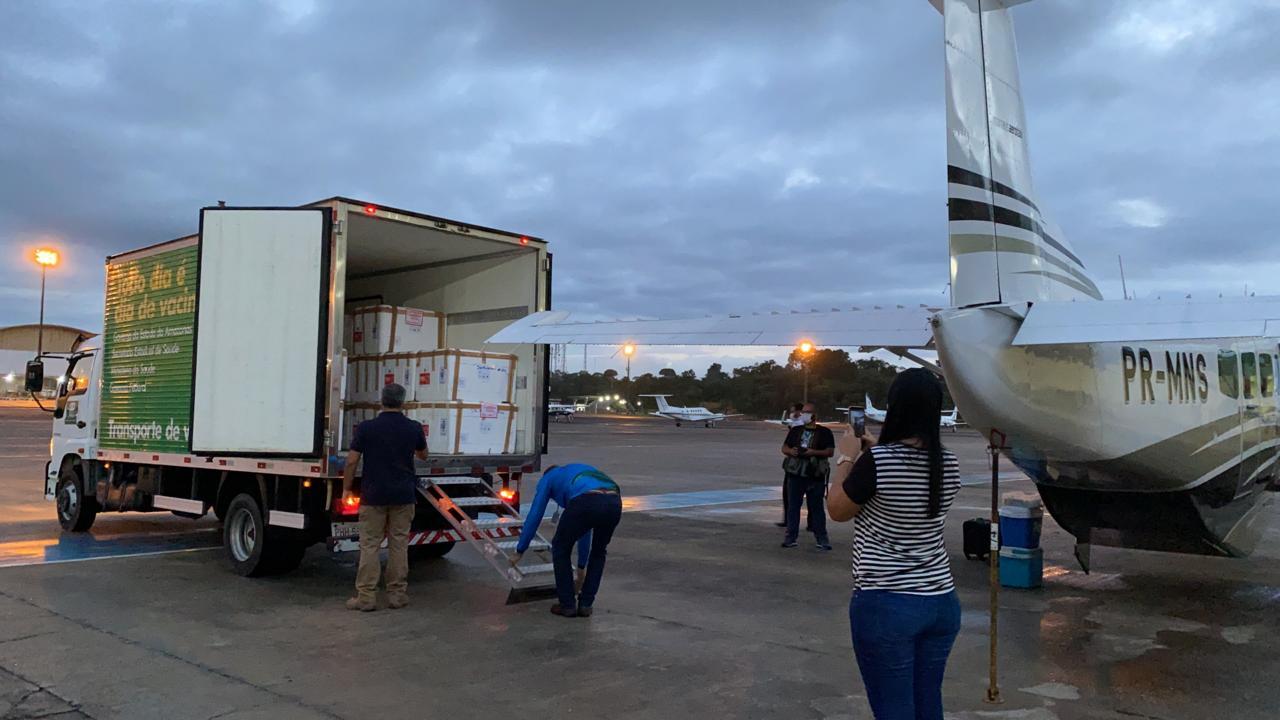 Municípios do Amazonas já recebem Coronavac para iniciar vacinação