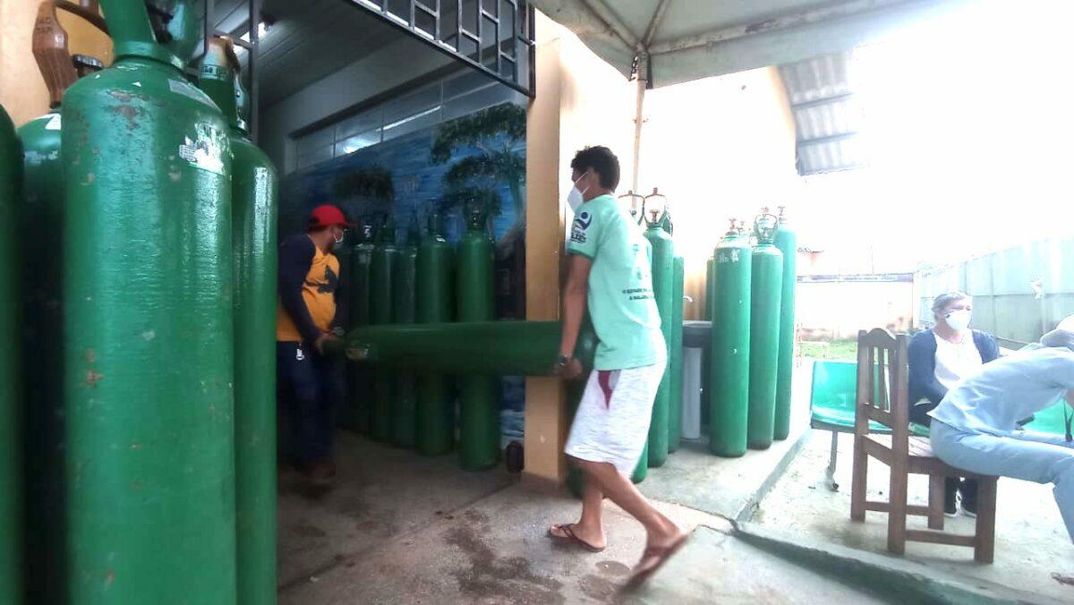 Prefeito monta 'operação de guerra' para não faltar oxigênio em Autazes