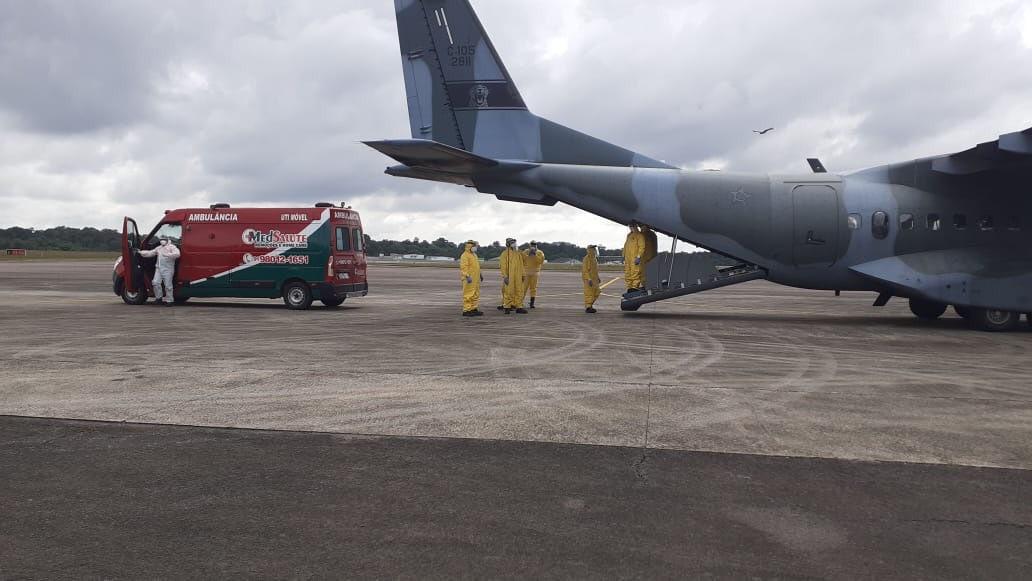 Amazonas transfere pacientes em estado grave para leitos de UTI do Pará