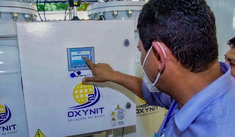 Em Parintins, nova usina de oxigênio começa a funcionar